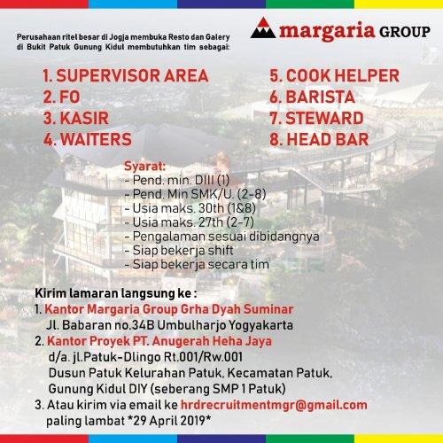 Disnakertrans Lowongan Margaria Group